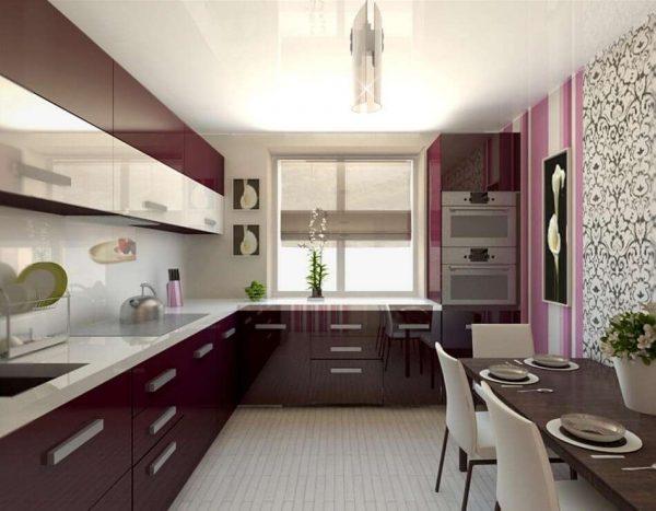 продление подоконника на окне кухни