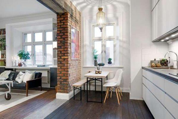 перепланировка однокомнатной квартиры под кухню и гостиную