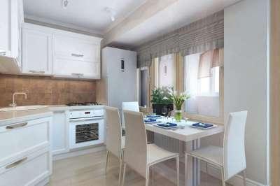 нашел мамку обычный дизайн кухни в однокомнатной квартире фото определяется визуально