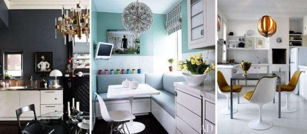 декор в интерьере кухни в стиле модерн