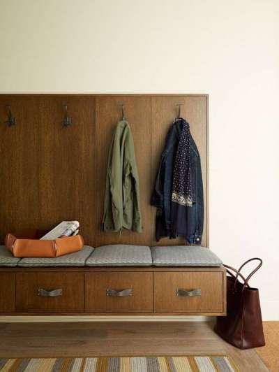 подвесной шкаф для узкого коридора