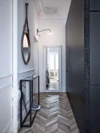 зеркало круглое для узкого коридора