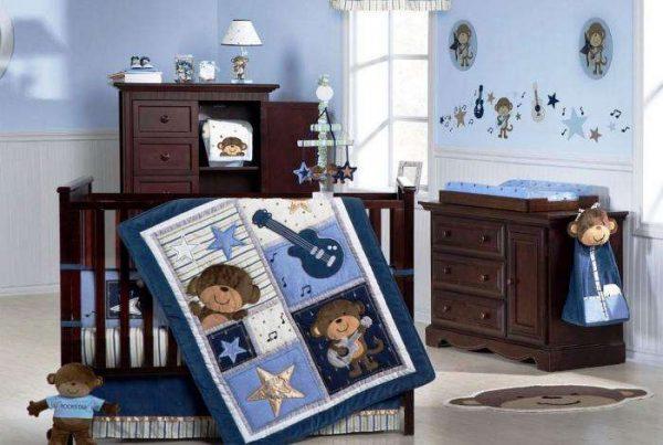 интерьер комнаты мальчика