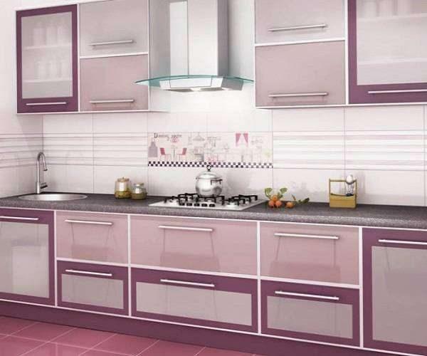 сиреневый цвет кухонного гарнитура