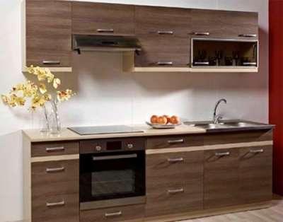 линейная кухня своими руками