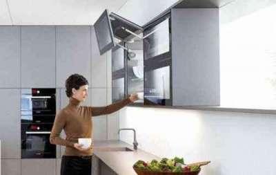 подъемный механизм на маленькой кухне