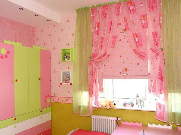 обои для детской комнаты девочке