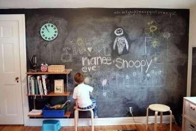 обои для рисования в детской комнате