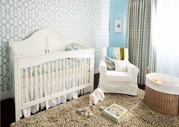 обои для комнаты новорожденного