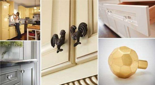 дверные ручки для кухни своими руками