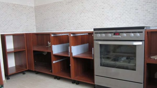 сборка кухни своими руками