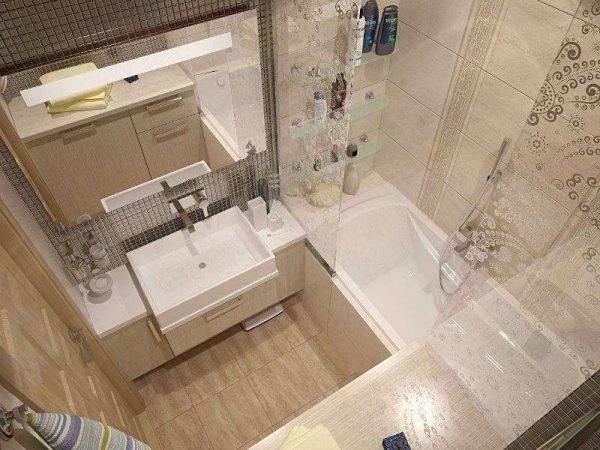 мебель в ванной в хрущёвке