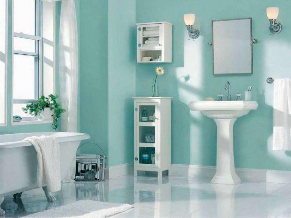 силиконовая краска в ванной