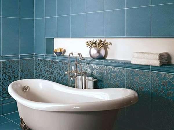 гипсокартон с плиткой в отделке ванной комнаты