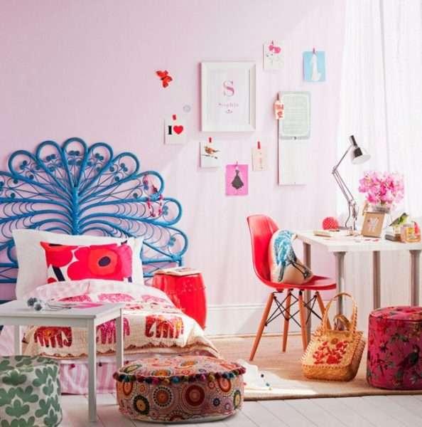 скандинавский стиль в интерьере комнаты девочки