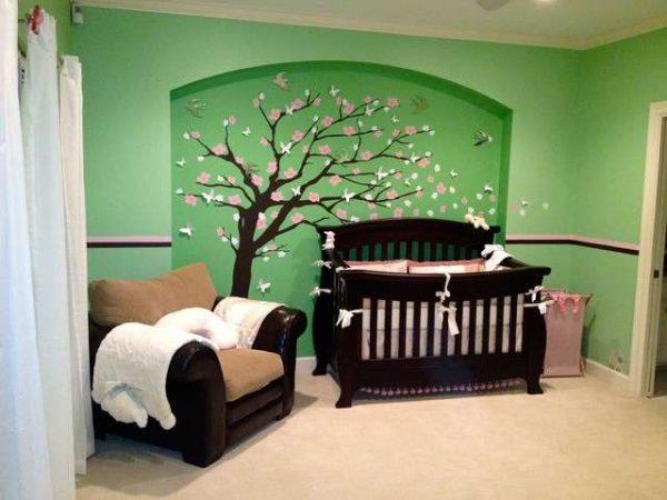 мебель в классическом стиле в детской комнате