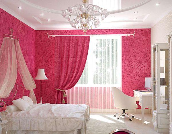 шторы в комнате девочки подростка