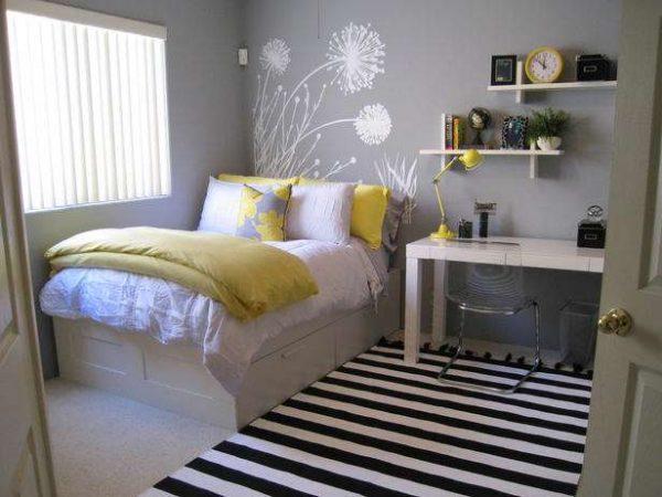 минимализм в интерьере комнаты девочки