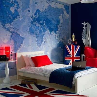 ковёр в детской комнате подростка