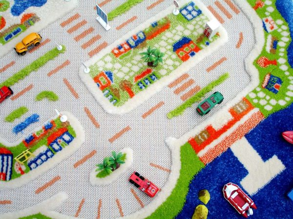 ковёр для детской мини сити
