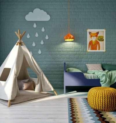стильный ковёр для детской комнаты