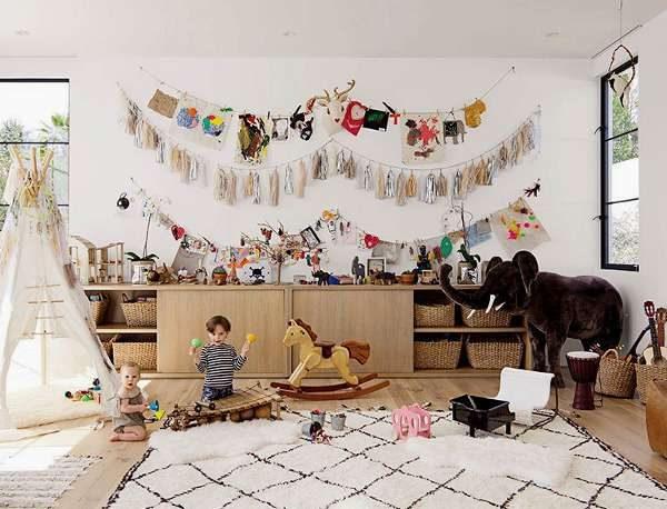 большой ковёр для детской комнаты