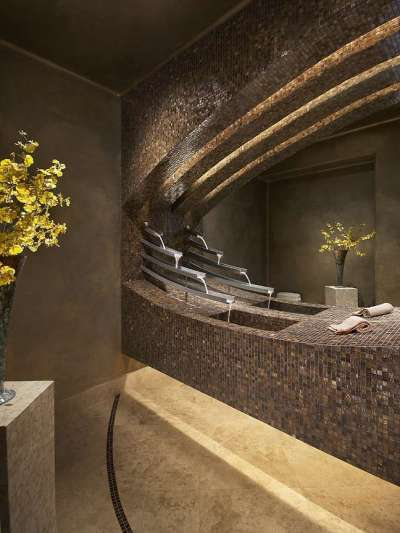 мозаика в ванной комнате