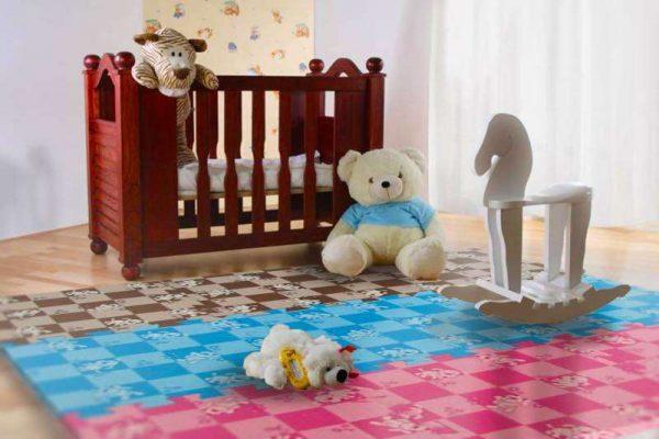 мягкие пазлы на пол для малыша
