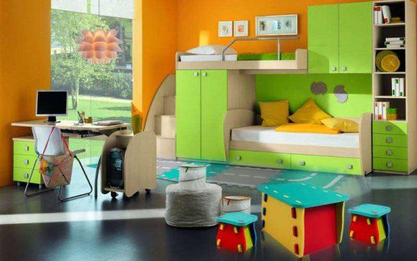 мягкие пазлы в интерьере детской комнаты