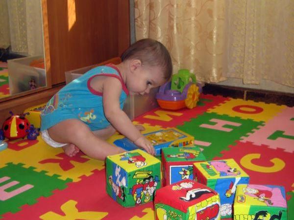 мягкий пол для детей 1-2 года