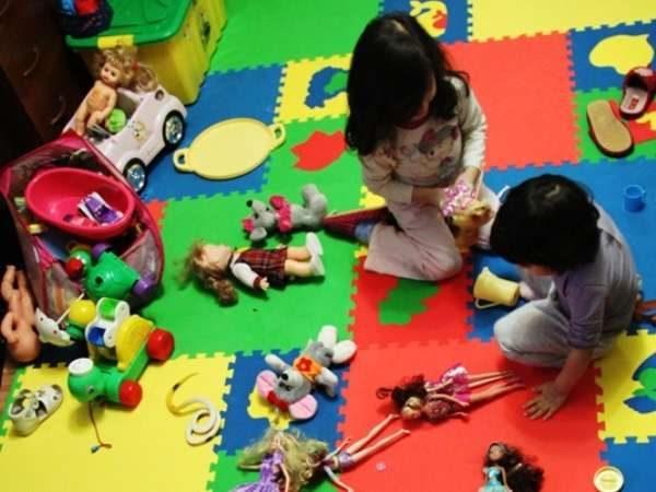 мягкий пол для детей 2-5 лет
