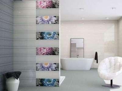 прямоугольная плитка для ванной