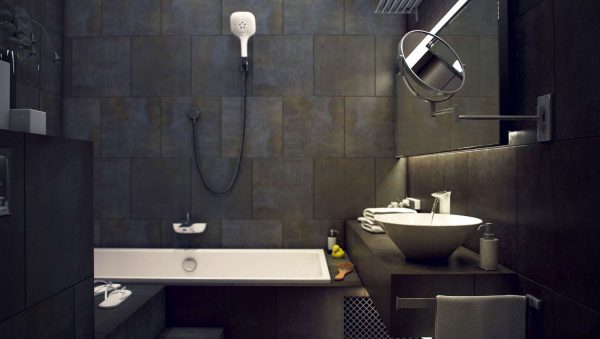 лофт стиль в ванной
