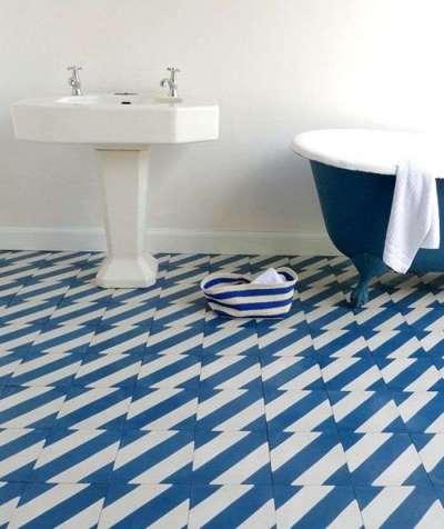 раскладка напольной плитки в ванной комнате