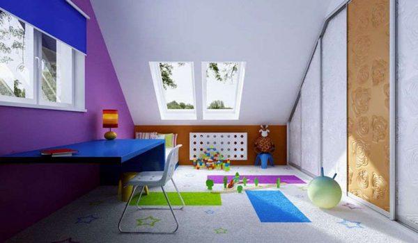 шторы на дистанционном управлении в комнате мальчика
