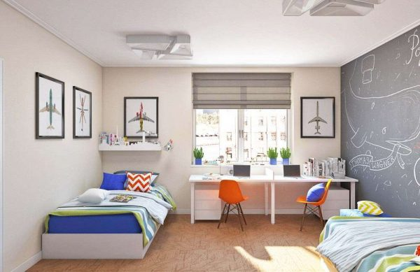 шторы в комнату подростка мальчика