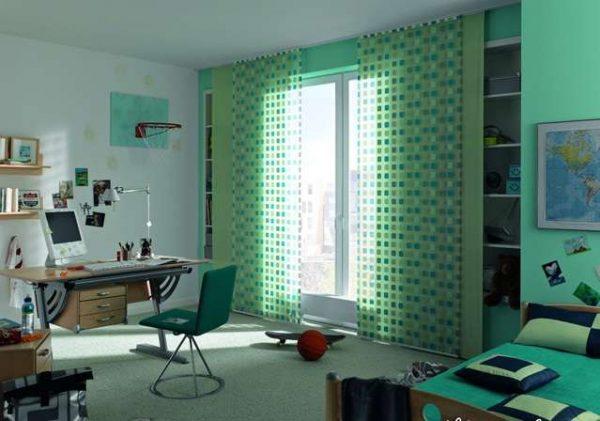 японские шторы в комнату мальчика