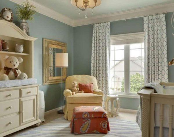прямые шторы для детской комнаты мальчика