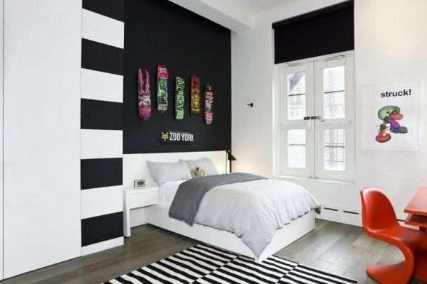 рулонные шторы в комнате мальчика