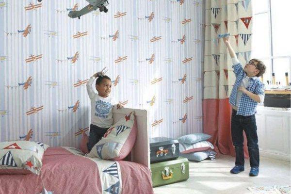 шторы в комнате мальчика