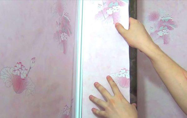 монтаж панелей в ванной