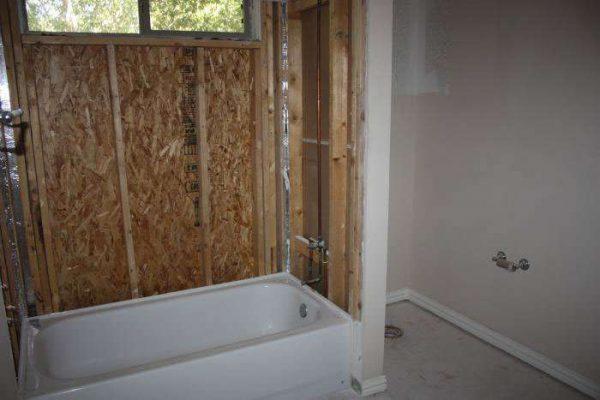 обрешётка в ванной под панели