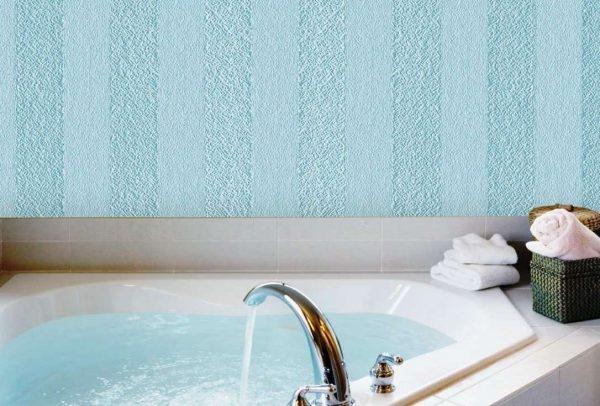 стеклообои в ванной