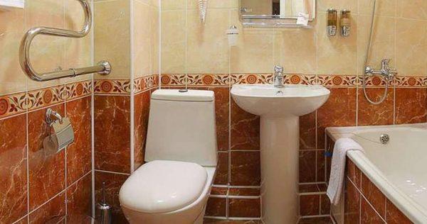 ванная с туалетом в хрущёвке