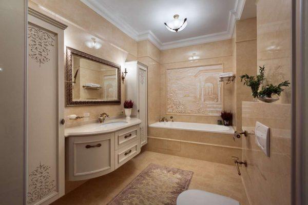 заделка швов в ванной