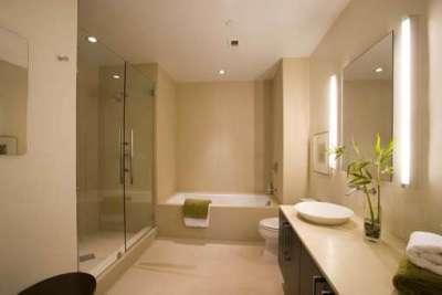 заделка швов в ванной бежевой плиткой