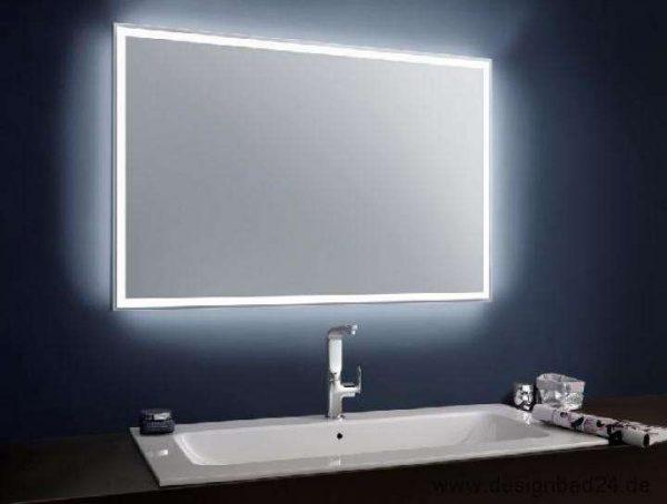 внутренняя подсветка зеркала в ванной