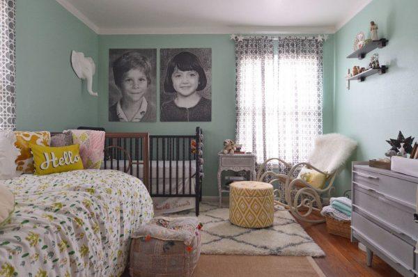 комната двух разнополых детей