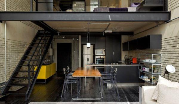 стандартная кухня лофт