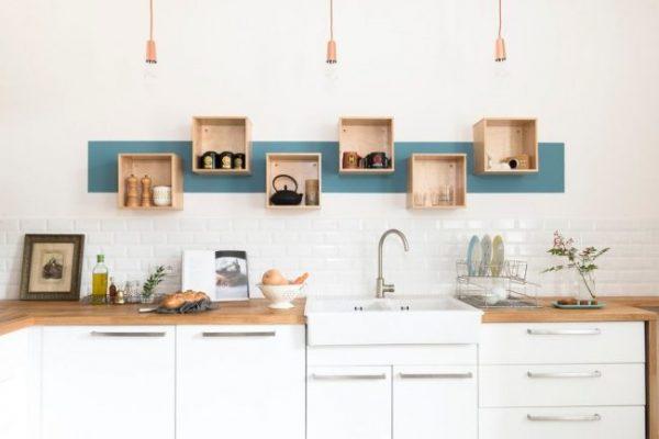 светильники на кухне в скандинавском стиле